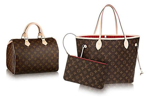 Ic Bags Tas Wanita Lv Neverfull Monogram price comparison for buying luxury bags in europe to the