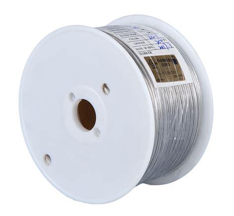 clear silver l cord clear silver color spool l cord 46603 b p l supply