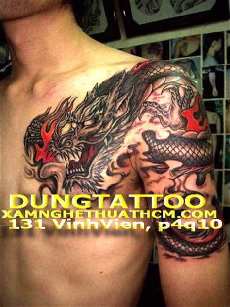 tattoo hinh xam 3d hinh xam tattoo dep 3d thu phap chu hoa chu tau hoa van