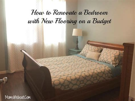 Renovating A Bedroom On A Budget How To Renovate A Bedroom With New Flooring On A Budget