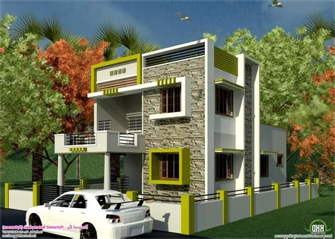 South Indian Style New Modern 1460 Sq House South Indian House Plans With Photos Exterior