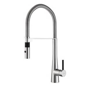 kitchen faucet hoses kraus kpf 2730 crespo single lever commercial style kitchen faucet with flex hose kpf 2730ch