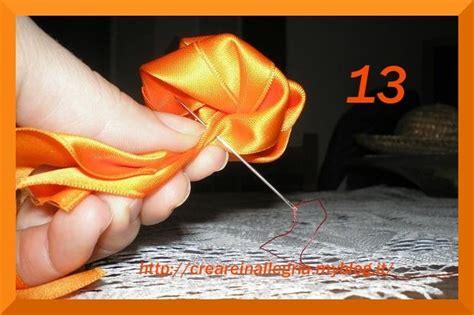 come fare fiori con nastro di raso fiori di raso archivi creare in allegriacreare in allegria
