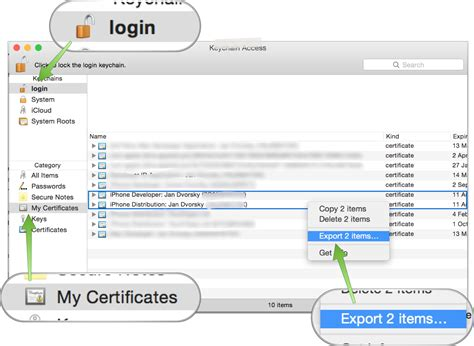 xcode keychain tutorial 4 putting it all together