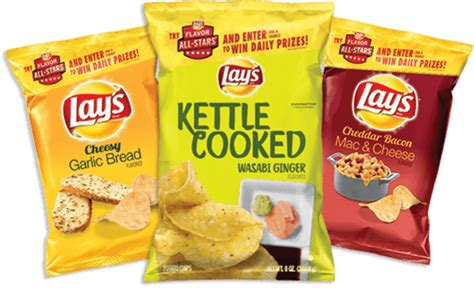 Lays Com Sweepstakes 2017 - 2017 lay s flavor all stars sweepstakes your favorite flavors are back