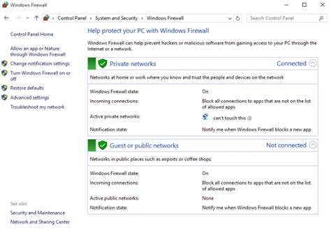firewall windows 10 software how to set up the firewall in windows 10