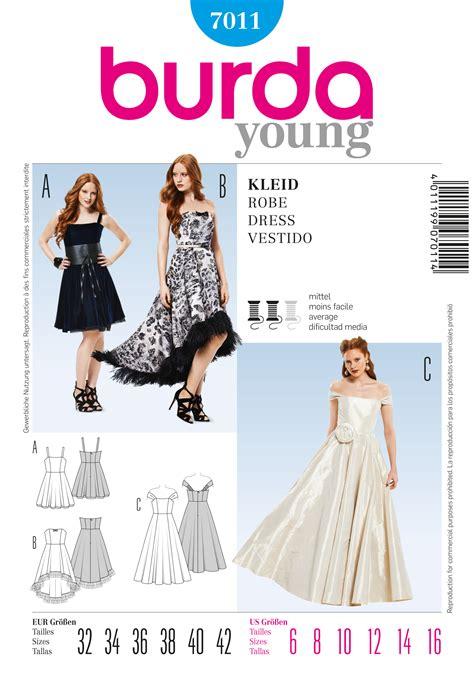 sewing pattern review blog burda 7011 evening dress