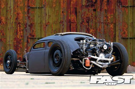 volksrod beetle fast car