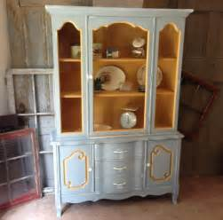 Yellow Painted Kitchens - kitchen hutch french country painted furniture by