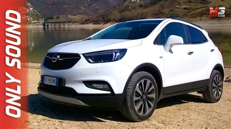 new opel mokka x 4x4 2017 test drive only sound