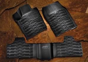 Mopar Jeep Floor Mats Mopar Oem Jeep Grand Slush Floor Mats