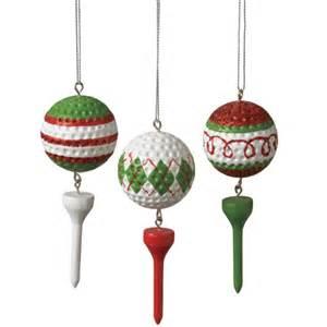 golf ball xmas ornaments crafts