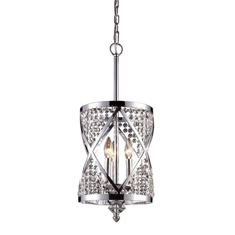 Ceiling Mounted Chandelier Titan Lighting 3 Light Ceiling Mount Polished Chrome Chandelier The Home Depot Canada