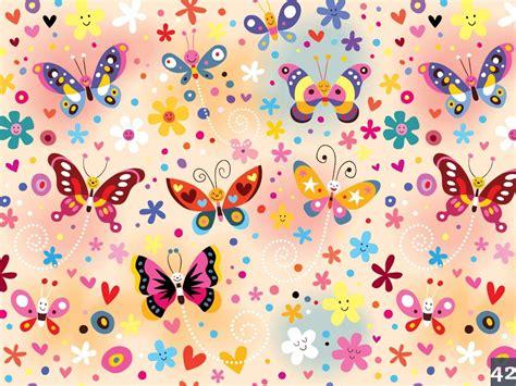 imagenes de corenos empapelados flores corazones y mariposas con inst