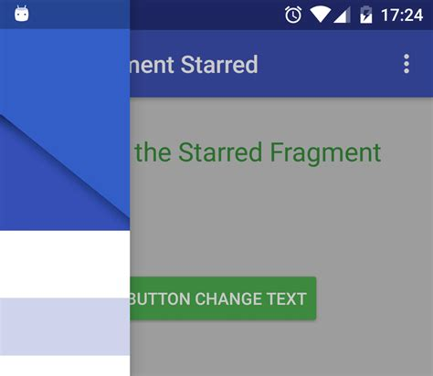 drawer layout in fragment android navigation drawer con fragments android design support