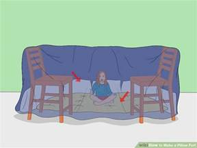 4 ways to make a pillow fort wikihow