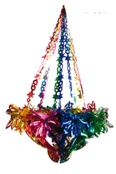 foil decorations hanging foil chandelier sukah decoration