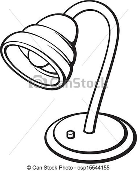 Anglepoise Desk Lamp Clipart Vector Of Silver Desk Lamp Retro Electric Lamp