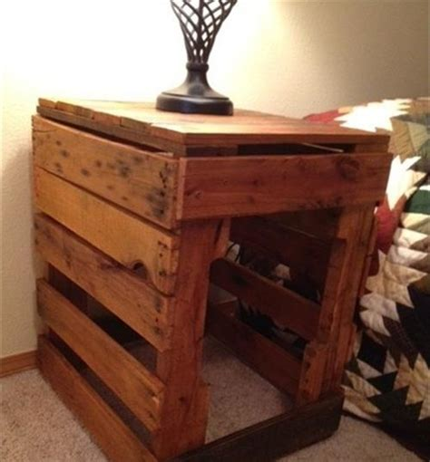 ideas for bedside tables diy pallet bedside table ideas pallets designs