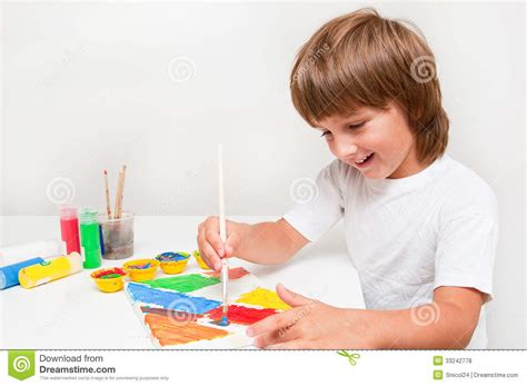 children s painting free child painting royalty free stock photos image 33242778