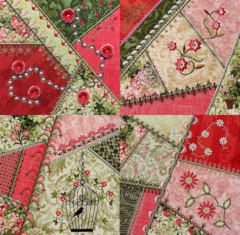 Patchwork Embroidery Stitches - 356 best images about machine embroidery ith on