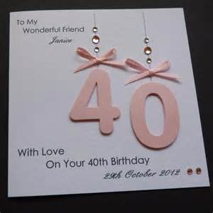 handmade personalised 30th 40th 50th 18th 21st any age birthday card ebay
