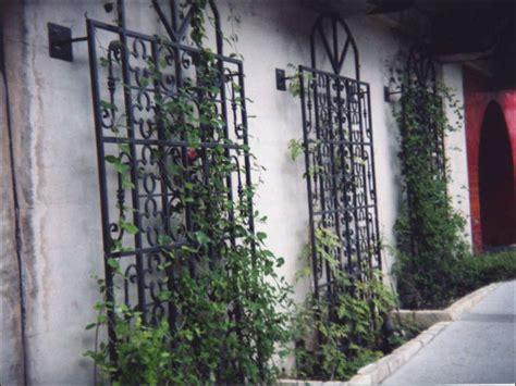 Image Gallery Iron Garden Trellis Designs Garden Wall Trellis Metal