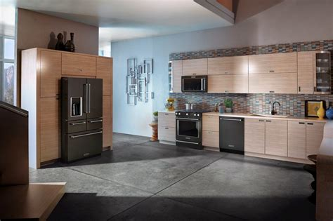 colors with stainless steel appliances kitchenaid black stainless appliances
