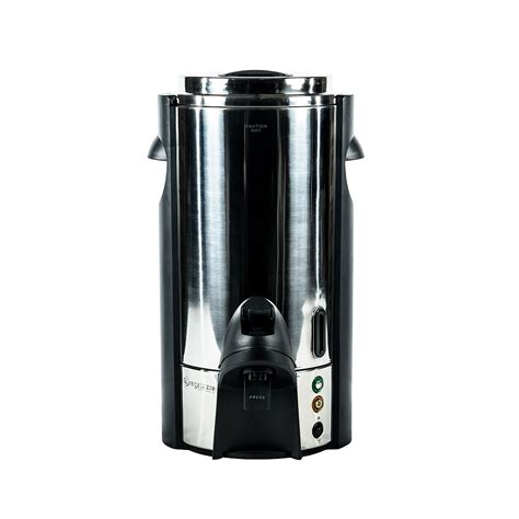 Sigmatic Coffee Maker 100 Ss 100 cup polished stainless steel coffee maker american rentals