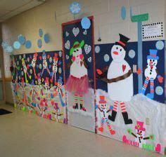 winter hallway decorations 1000 images about school display on classroom door bulletin boards and snowman door