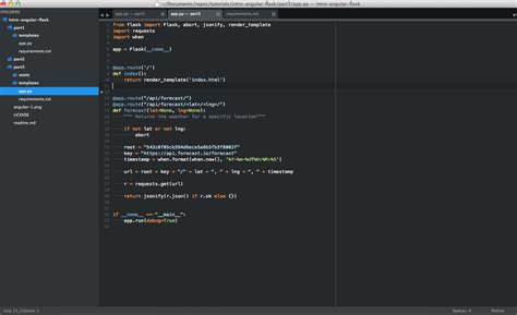 sublime text 3 theme settings setting up sublime text 3 for full stack python
