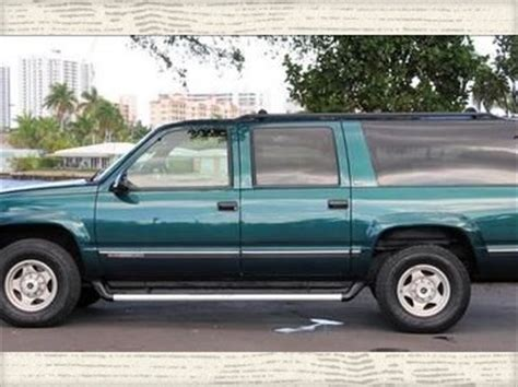how to fix cars 1996 gmc suburban 2500 navigation system purchase used 1996 gmc suburban 2500 slt 4x4 loaded great condition perfect tow vehicle in