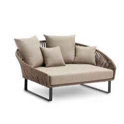 Daybeds Outside Bitta Braided Modern Outdoor Daybed Chaise