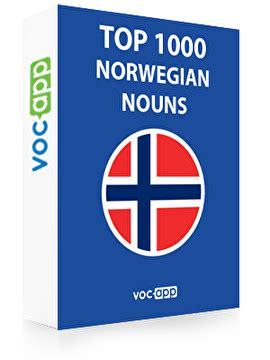 norwegian words top  nouns