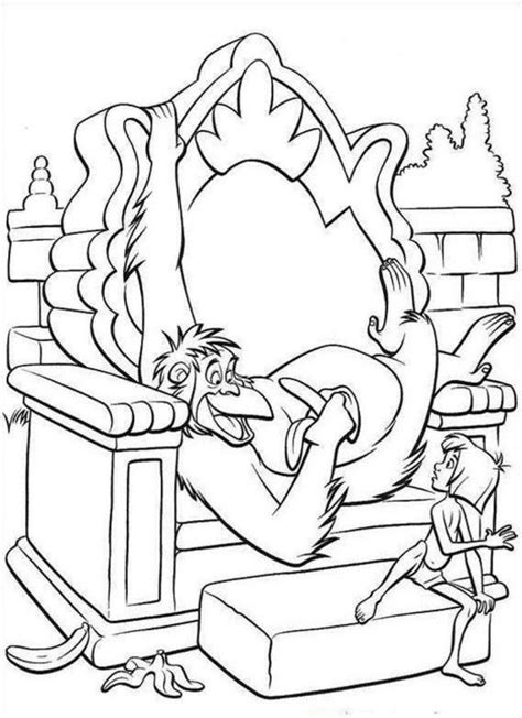 monkey kingdom coloring page chimpanzee coloring page coloring home