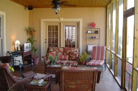 pictures of screened in decks on condos studio
