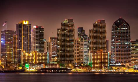 Lights San Diego by Wallpapers San Diego Wallpaper Cave