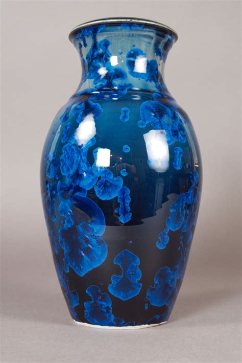 Blue Vases by Blue Vases In Vases Sale