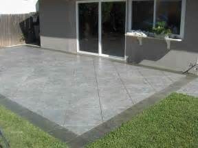 Cement Patio Designs Patio Design Kris Allen Daily