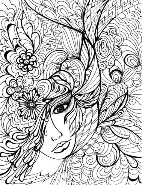 hair dreams coloring book for adults books printable dover coloring pages printable coloring