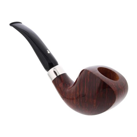 Handmade Pipes - handmade ser jacopo n 176 52 pipe with a silver ring la pipe rit