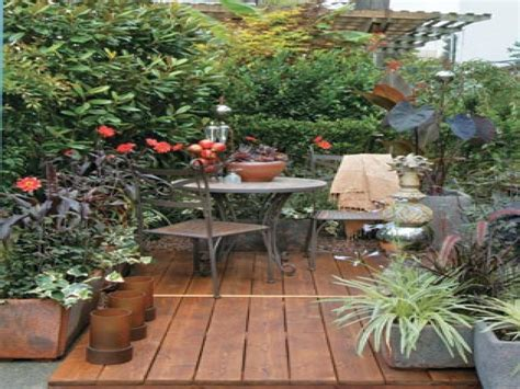 Small Patio Garden Design Ideas Magnificent Small Garden Patio Design Ideas Patio Design 244