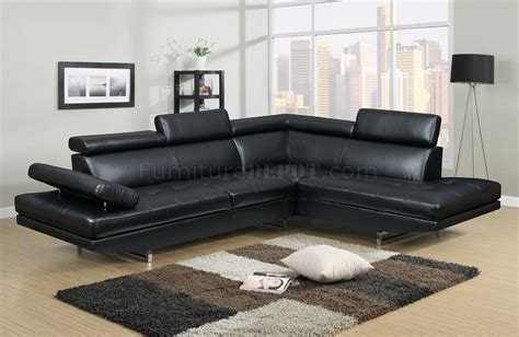black bonded leather sofa 4010 sectional sofa in black bonded leather