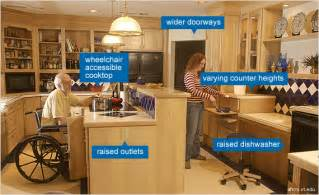 universal design kitchens ada by any other name riverbend home