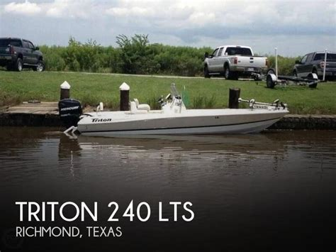 fishing boats for sale richmond sold triton 240 lts boat in richmond tx 092690