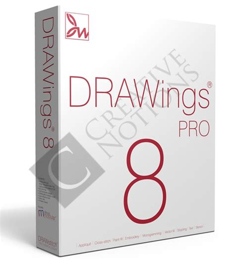 Drawings 8 Pro by Drawing 8 Pro Digitizing Embroidery Software Upgrade