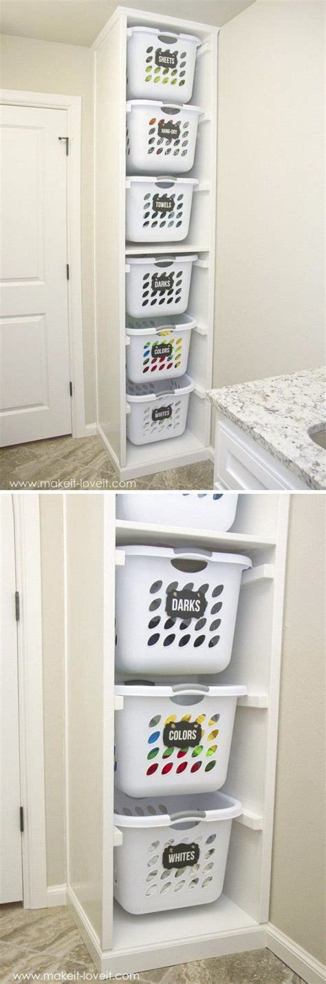 Laundry Room Basket Storage 25 Best Ideas About Laundry Basket Shelves On Laundry Basket Storage Laundry Room
