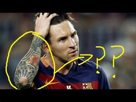 messi watch tattoo what does messi s tattoo really means youtube