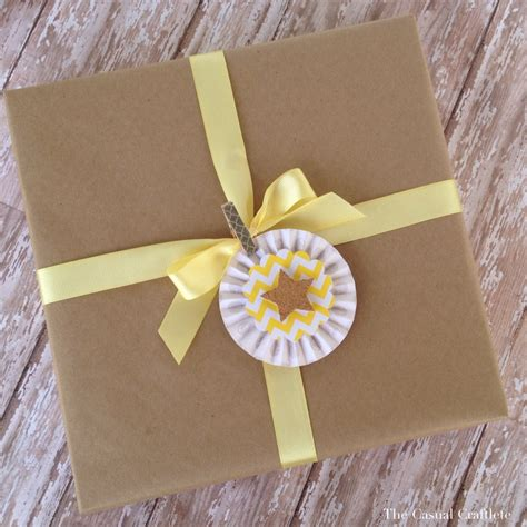 Craft Paper Wrapping - pretty gift wrapping ideas purely