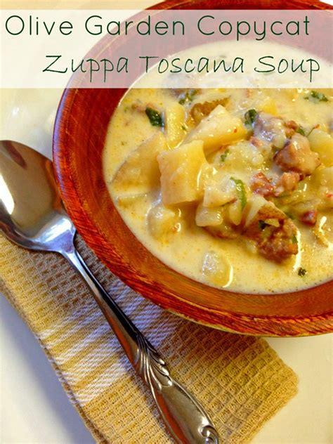 olive garden zuppa toscana copycat recipe olive garden copycat zuppa toscana recipe the home and garden cafe